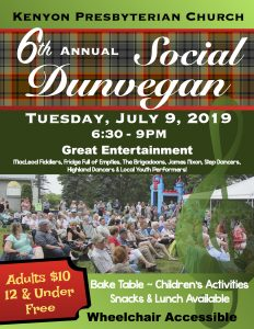 Dunvegan Summer Social @ Kenyon Church Hall Grounds | Dunvegan | Ontario | Canada